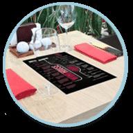 Kwik-Stik(R) Full Color Table Graphics